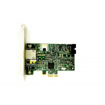 HP BCM5761 Single Port - 1GbE RJ45 Full Height PCIe-x1 Ethernet