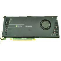 HP Quadro 4000 Black - 2GB GDDR5 PCIe-x16 FH