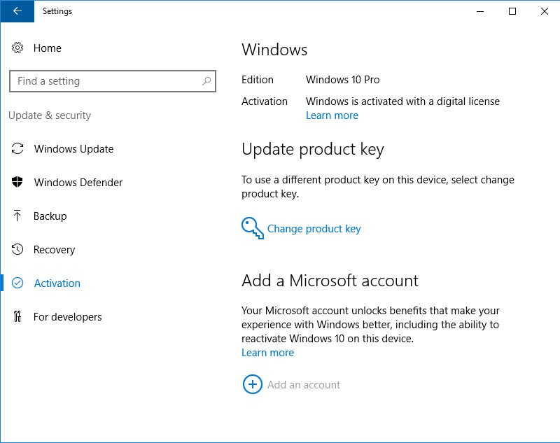 upgrade windows 10 home to pro free